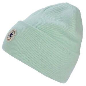 Converse All Star x Chuck Taylor Cuff Watchcap Knit Mint Beanie Hat CON588