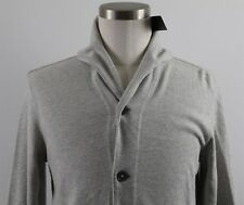 NWT Polo Ralph Lauren Shawl Neck Cardigan Sweater MENS SMALL Gray Cotton