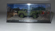 Modellauto 1:43, James Bond 007, Willy´s Jeep M606, Octopussy, Diorama (071)