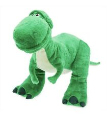 "Disney Store Pixar Toy Story 4 Rex Plush Large 14"". New Dinosaur Green"