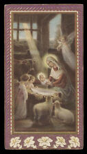 "santino-holy card""""ediz. NB n.9023 NATIVITA'"
