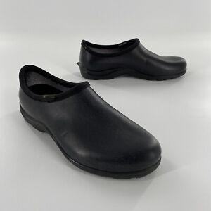 Sloggers Garden Clogs Unisex Black Comfort Shoes Size M 9 W 11
