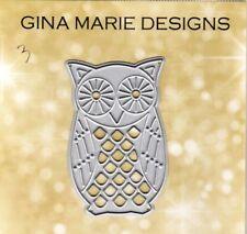 Gina Marie designs metal cutting dies - Patterned owl