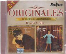 CD - Los Originales Peerless 2 En 1 Rosario De Alba (Warner Music) - BRAND NEW !
