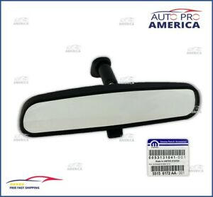 (1) NEW OEM MOPAR Wrangler Challenger Charger 300 REAR VIEW MIRROR 55156172AA