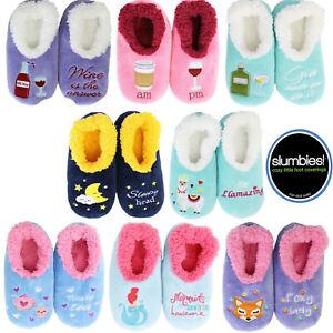 ~❤️~SLUMBIES Pairables Womens Slippers Socks Foxy Lady Llama Mermaid ~❤️~