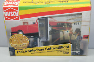 Busch 5931 Electronic Welding Light Gauge H0 Boxed