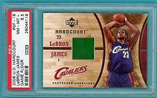 2006 UD Hardcourt Materials LeBron James Game Used Floor - #GF-18 PSA 8.5! POP 1
