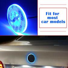 82mm Badge Background LED Light Emblem Logo sticker For BMW 3 5 7 X Series Blue