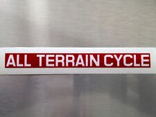 Honda ATC 110 Front Fork All Terrain Cycle Sticker 1980/85