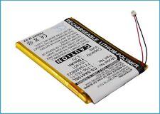 3.7 V Batteria per Sony NWZ-S616F, nwz-s638fred, NWZ-S615F, NWZ-S716FSNC, NWZ-S615