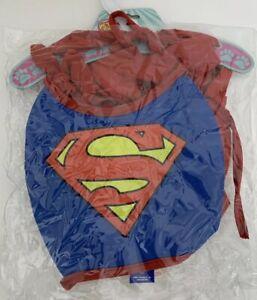 DC Comics Superman Cape With Chest Piece Pet Costume Size Medium M
