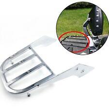 Chrome Sissy Bar Luggage Rack For 03-05 Honda VTX 1300N/R/S w/ 03-08 1800N/R/S