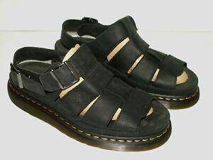 Dr.Martens FLASH fisherman leather sandals UK 10 EU 45 US 11 (doc602)