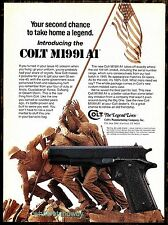 1991 COLT M1991 A1 Pistol PRINT AD Vintage Gun Firearms ADVERTISING