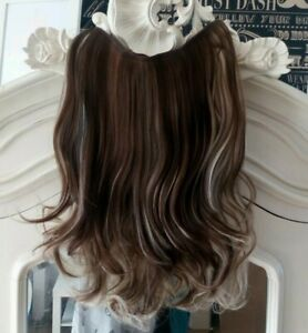 Hair Extensions Layered Thick Full Head One Piece With Wire Balayage
