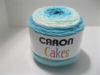Caron Cakes Self Striping Yarn 383 Yd/7.1 Oz  FAERIE CAKE - Lot Of 3