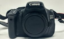 Canon EOS 600D 18.0 MP DSLR Camera - 1080p - Black - Body Only