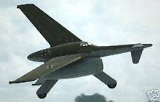 Rheinmetal-Borsig VTOL Airplane Wood Model Free Ship New