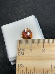 Pretty Faceted Trtd Mystic Topaz Gemstone in JTV Gem Jar- 4.05ct- Estate Find