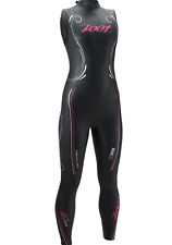 New Zoot Womens Triathlon Wetsuit Size Xs Sleeveless Z-Force 1.0 Fits Teen/Girls