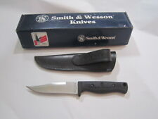 USA Smith & Wesson SW-630 Skinner Fixed Blade Hunting Knife First Production Run