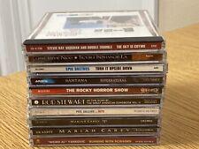 Lot 10 Cd's Rock & Pop 1980/90's Santana Mariah Carey Phil Collins Stevie Nicks