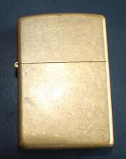2004 ZIPPO Lighter Not Used Gold Tone made Bradford  PA USA
