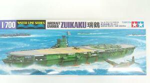 Tamiya 1/700 Japanese Aircraft Carrier Zuikaku Plastic Assembly Model #31214