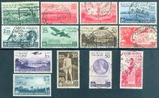 1936 Regno Orazio Serie completa n 398/405+A95/99 Usati