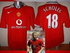 Manchester United Paul Scholes Jersey Shirt Adult Small Soccer Football Nike H