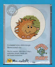 Friendly Planet  X Stitch Kit by Mouseloft (Hedgehog)