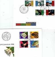 2 FDC Schweiz aus 1998 - Kat.Wert 18,-- €  ( 23457-o1 )