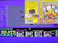 Sinclair ZX Spectrum 48k 128k +2 +3 Skate Crazy Joystick Cassette
