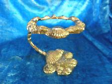 Paris Apt. Gold Nautical Beach House Ocean Seashell Shell Glass Holder 0021010
