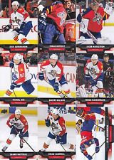 2013-14 Upper Deck Florida Panthers Complete Series 1 & 2 Team Set 12 Cards