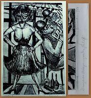 Naumann, Hermann Original-Radierung auf Bütten ca. 67,5 cm x 47 cm 1964 Kunst