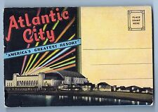 Vintage Atlantic City New Jersey View Folder Pc America'S Greatest Resort