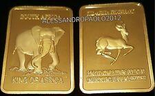 LINGOTTO CREDIT SUISSE ONE OUNCE IN FINE GOLD 999 PLACCATO ORO 24k DA COLLEZIONE