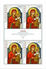 SLOVAKIA/2018, (MINI SHEET) ART: The Icon of Krásny Brod, The Mother of God, MNH