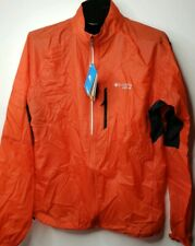 Columbia Montrail Titan Red Windbreaker Jacket Vented Men's Medium NWT