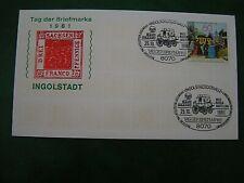 BRD - 1981, Tag der Briefmarke, MiNr. 1112, gestempelt 25.10.1981, Ingolstadt