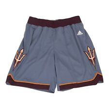 Arizona State Sun Devils NCAA Adidas Women's Onix Grey F16 Basketball Shorts