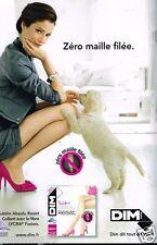 Publicité advertising 2011 Les Bas et Collants DIM
