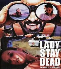 Lady Stay Dead Blu-Ray 1981 NEW Code Red REGION FREE