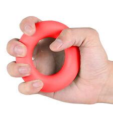 Strength Finger Hand Grip Muscle Power Training Rubber Ring Exerciser