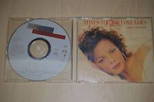 Janet Jackson ‎– That's The Way Love Goes. VSCDT1460 CD-Maxi