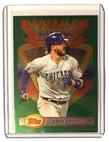 2020 Topps Baseball's Finest Flashbacks All Star KRIS BRYANT #113 Cubs