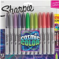 Sharpie Fine Cosmic Permanent Marker Pack 12