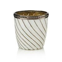 Swirl Glass Vintage SETS Tea Light Holder Candle Votive Wedding Centre piece